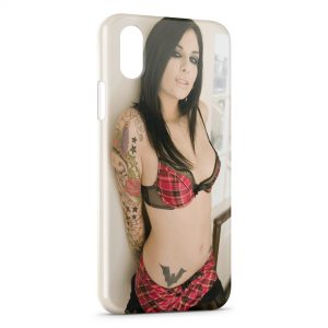 Coque iPhone XR Sexy Girl Tattoo 2