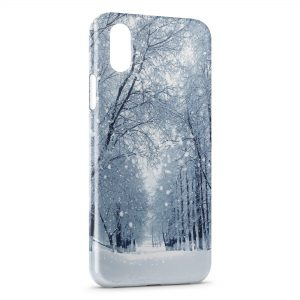 Coque iPhone XR Snow is shining