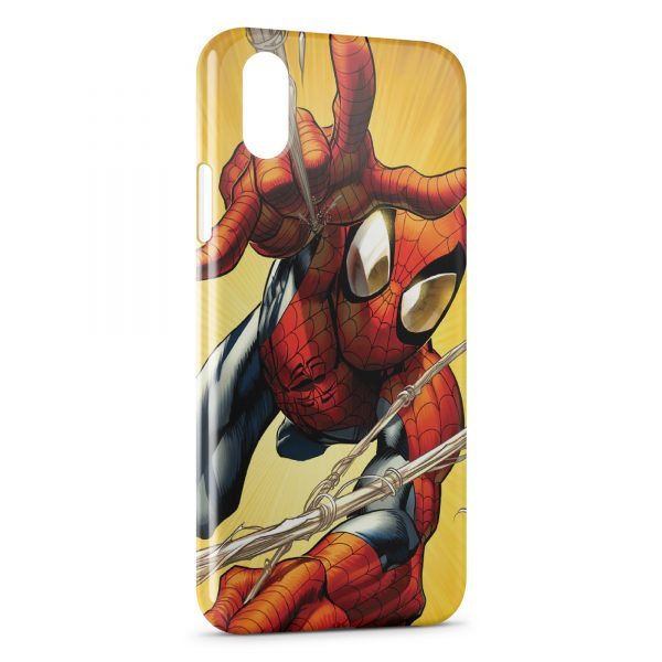 coque iphone xr spiderman