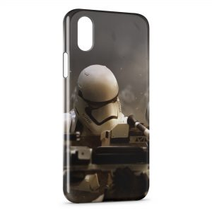 Coque iPhone XR Star Wars 7 Millenium StormTrooper