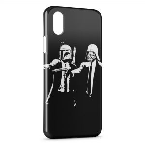 Coque iPhone XR Star Wars Pulp Fiction