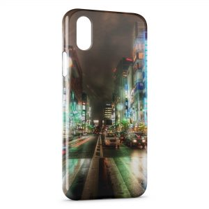 Coque iPhone XR Street View at Night