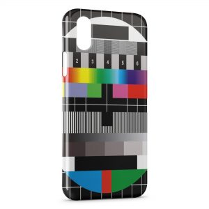 Coque iPhone XR TV Television