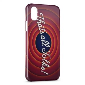 Coque iPhone XR That's all Folks