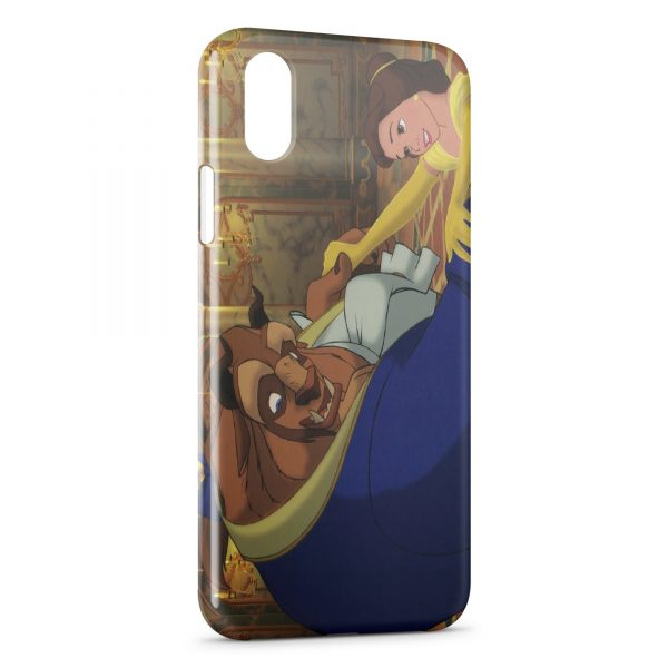 Coque iPhone XR The Beauty and The Beasty Disney 3