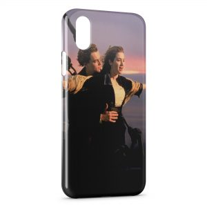 Coque iPhone XR Titanic Leonardo Di Caprio Rose 2