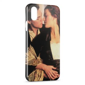 Coque iPhone XR Titanic Leonardo Di Caprio Rose