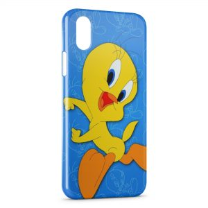Coque iPhone XR Titi Blue Style 2