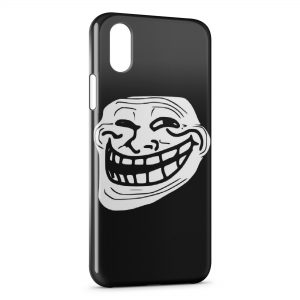 Coque iPhone XR Troll