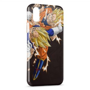 Coque iPhone XR Vegeta and Goku - Dragon Ball Z