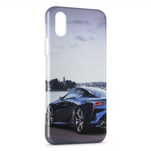 Coque iPhone XR Voiture de Luxe Garage