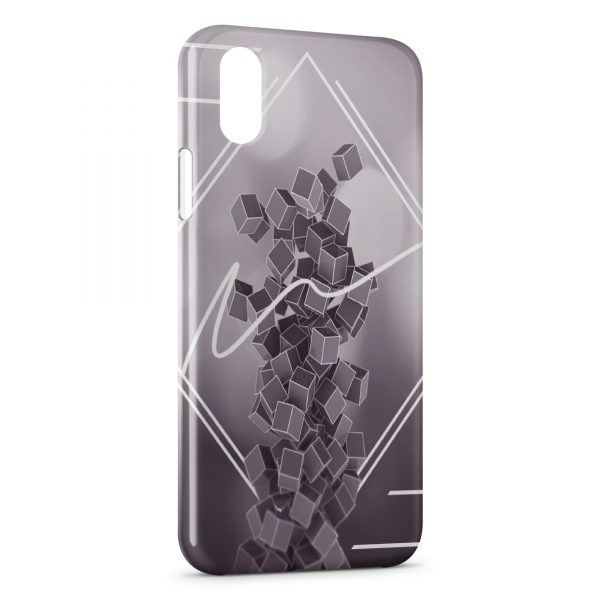 Coque iPhone XS Max 3D Abstract Graphic