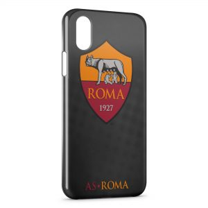 Coque iPhone XS Max AS Roma Football