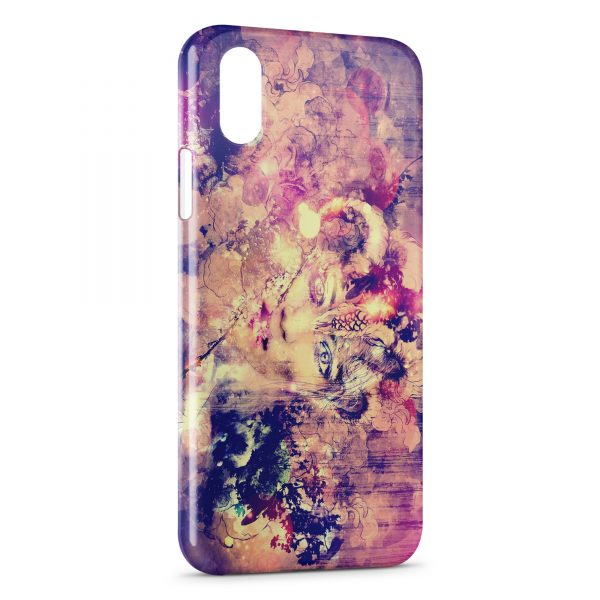 Coque iPhone XS Max Abstract Painting