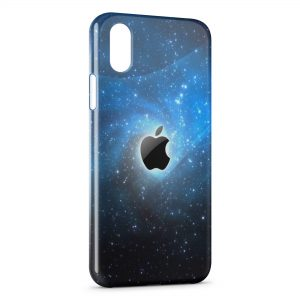 Coque iPhone XS Max Apple Galaxy Style