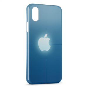 Coque iPhone XS Max Apple Logo 2