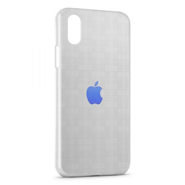 coque iphone xs max avec logo