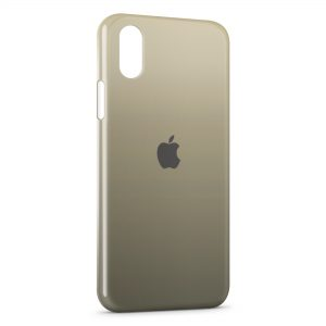 Coque iPhone XS Max Apple Logo 7