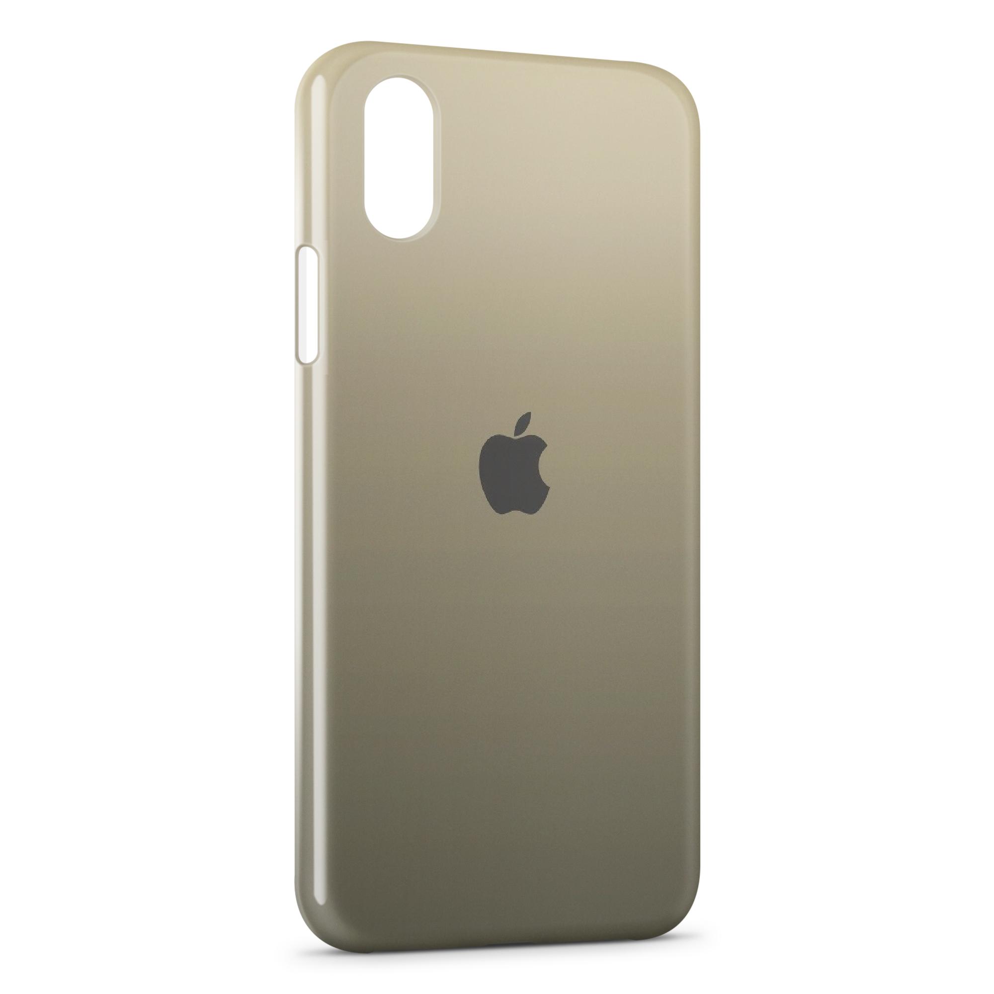 coque iphone xs max logo apple