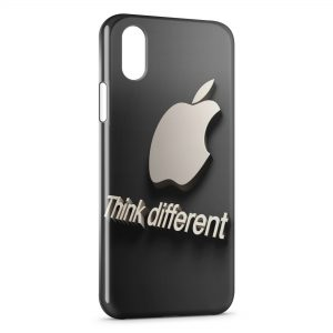 Coque iPhone XS Max Apple Think different