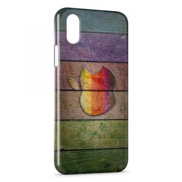 coque iphone xs max en bois