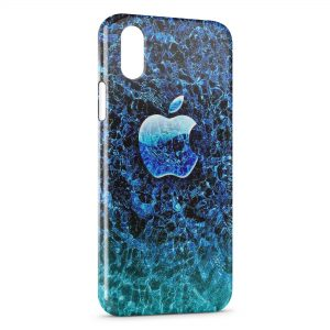 Coque iPhone XS Max Apple under Water