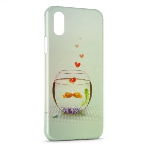 Coque iPhone XS Max Aquarium Poissons
