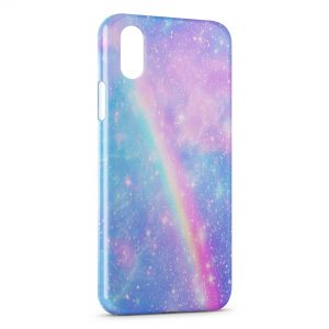 Coque iPhone XS Max Arc En Ciel