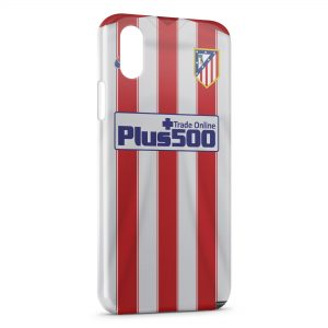 Coque iPhone XS Max Atletico de Madrid Football 2