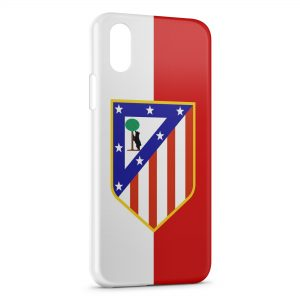 Coque iPhone XS Max Atletico de Madrid Football 3