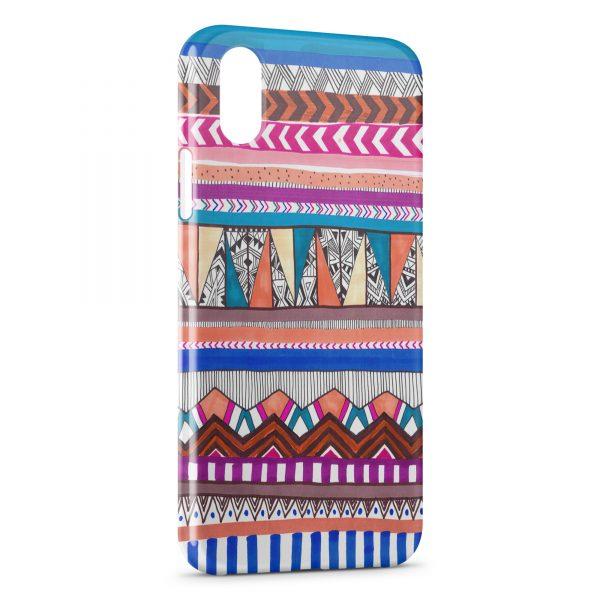 Coque iPhone XS Max Aztec Style 3