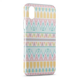 Coque iPhone XS Max Aztec Style