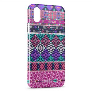 Coque iPhone XS Max Aztec Style 4