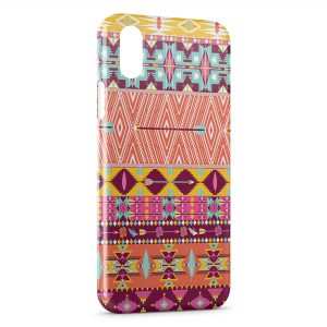Coque iPhone XS Max Aztec Style 5