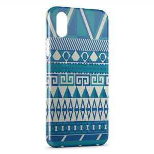 Coque iPhone XS Max Aztec Style 6
