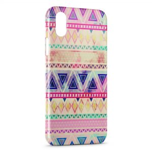 Coque iPhone XS Max Aztec Style 8