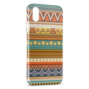 Coque iPhone XS Max Aztec Style 9