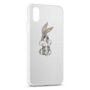 Coque iPhone XS Max Bébé Bugs Bunny