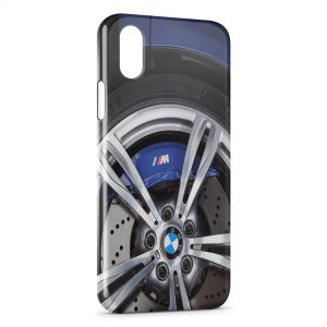 Coque iPhone XS Max BMW Voiture Roue Jante