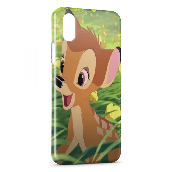 Coque iPhone XS Max Bambi Faon