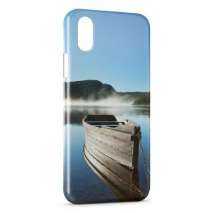 Coque iPhone XS Max Barque & Nature 2