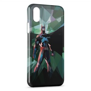 Coque iPhone XS Max Batman 3D Design