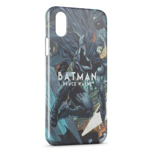 Coque iPhone XS Max Batman Bruce Wayne