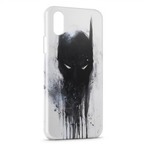 Coque iPhone XS Max Batman Graff Design