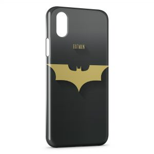 Coque iPhone XS Max Batman Logo