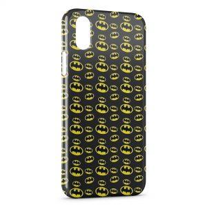 Coque iPhone XS Max Batman Logos