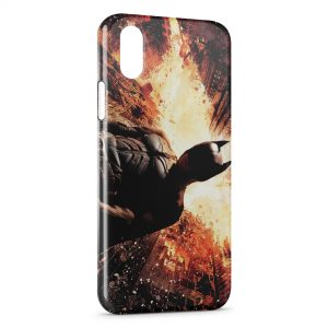 Coque iPhone XS Max Batman The Dark Knight Rises 2
