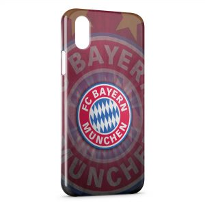 Coque iPhone XS Max Bayern de Munich Football Club 13