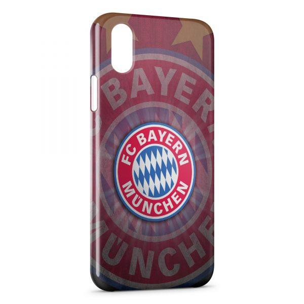 Coque iPhone XS Max Bayern de Munich Football Club 13