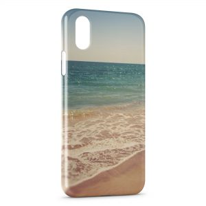 Coque iPhone XS Max Beach Playa